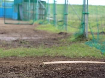 3塁側ブルペン(1レーン)