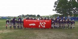 東日本選抜大会出場記念で<br>後援会の皆様より横断幕を頂きました!